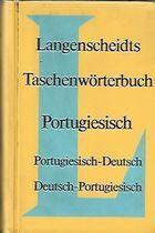 Livro Langenscheidts Taschenwörterbuch Portugiesisch- Deutsch Autor Erster Teil (1968) [usado]