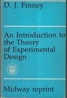 Livro An Introduction To The Theory Of Experimental Design Autor D. J. Finney (1960) [usado]
