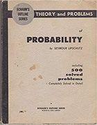 Livro Theory And Problems Of Probability Autor Seymour Lipschutz (1968) [usado]