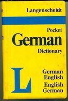 Livro Langenscheidt Pocket German Dictionary Autor The Langenscheidt Editorial Staff (1987) [usado]