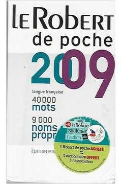 Livro Le Robert de Poche 2009 Autor Le Robert Staff (2008) [usado]