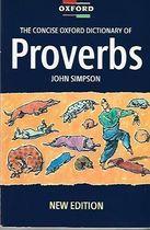Livro The Concise Oxford Dictionary Of Proverbs Autor John Simpson (1993) [usado]