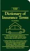 Livro Dictionary Of Insurance Terms Autor Harvey W. Rubin (2000) [usado]