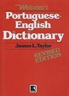 Livro Websters - Portuguese - English Dictionay Autor James L. Taylor (2001) [usado]