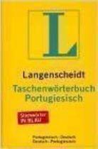 Livro Langenscheidts Taschenwörterbuch Portugiesisch- Deutsch Autor Dr. Friedrich Irmen (1988) [usado]