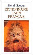 Livro Dictionnaire Latin - Français Autor Henri Goelzer (1966) [usado]