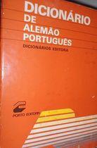 Livro Dicionário de Alemão para Português Autor Não Consta (1995) [usado]
