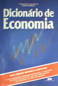 Livro Dicionário de Economia Autor Paulo Sandroni (org.) (1989) [usado]
