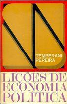 Livro Lições de Economia Política Autor Temperani Pereira (1967) [usado]