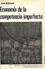 Livro Economía de La Competencia Imperfecta Autor Joan Robinson (1973) [usado]