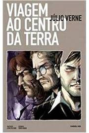 Gibi Viagem ao Centro da Terra - Volume 1. Coleção Farol Hq Autor Júlio Verne (2010) [usado]