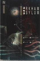 Gibi Arkham Asylum (em Inglês) Autor Grant Morrison, David Mackean (1989) [usado]