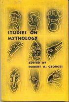 Livro Studies On Mythology Autor Robert A. Georges ( Edited ) (1968) [usado]