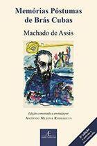 Livro Memórias Póstumas de Brás Cubas - Edição Comentada e Anotada... Autor Machado de Assis (2001) [usado]