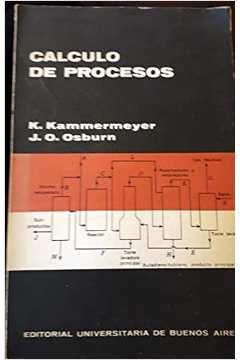 Livro Calculo de Procesos Autor K. Kammermeyer, J. O. Osburn (1966) [usado]