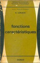 Livro Fonctions Caractéristiques Autor E. Lukacs (1964) [usado]