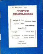 Livro Antologia de Contos Brasileiros Autor Nacle Ward (tradução) [usado]