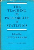 Livro The Teaching Of Probability & Statistics Autor Lennart Rade (1970) [usado]