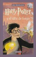 Livro Harry Potter Y El Cáliz de Fuego Autor J. K. Rowling (2001) [usado]