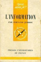 Livro L Information Autor Fernand Terrou (1962) [usado]