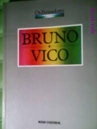 Livro Bruno e Vico Autor os Pensadores (1988) [usado]