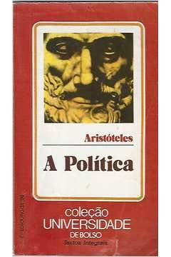 Livro a Política Autor Aristóteles [usado]