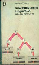 Livro New Horizons In Linguistics Autor John Lyons ( Edited ) (1970) [usado]
