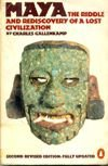 Livro Maya: The Riddle And Rediscovery Of a Lost Civilization Autor Charles Gallenkamp (1981) [usado]