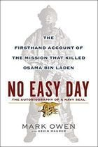 Livro no Easy Day - The Firsthand Account Of The Mission That... Autor Mark Owen (2012) [usado]