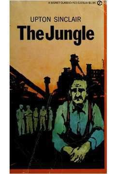 Livro The Jungle Autor Upton Sinclair (1964) [usado]