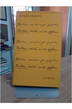 Livro Pardon Wird Night Gegeben Autor Alfred Doblin (1961) [usado]