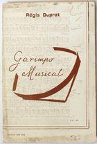 Livro Garimpo Musical Autor Régis Duprat (1985) [usado]