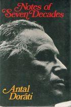 Livro Notes Of Seven Decades Autor Antal Doráti (1979) [usado]