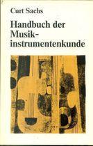 Livro Handbuch Der Musik-instrumentenkunde Autor Curt Sachs (1990) [usado]