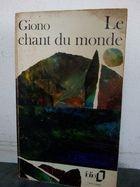 Livro Le Chant Du Monde Autor Jean Giono (1978) [usado]