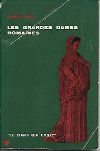 Livro Les Grandes Dames Romaines Autor Janine Assa (1958) [usado]