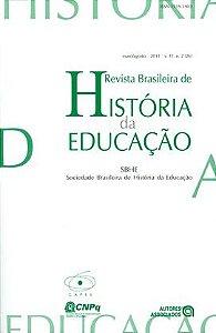 Livro Revista Brasileira de História da Educação V. 11 - Nº 2 Autor Sociedade Brasileira de História da Educação (2011) [novo]