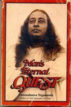Livro Mans Eternal Quest Autor Paramahansa Yogananda (1985) [usado]