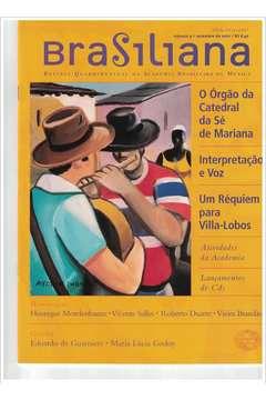 Livro Revista Brasiliana - N° 9 - Ano 2001 Autor Academia Brasileira de Música [usado]