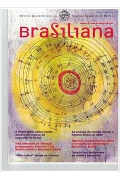 Livro Revista Brasiliana - N° 5 - Ano 2000 Autor Academia Brasileira de Música [usado]