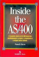 Livro Inside The As400 Autor Frank G. Soltis (1997) [usado]