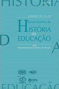 Livro Revista Brasileira de História da Educação V. 12 - Nº 3 (30) Autor Sociedade Brasileira de História da Educação (2012) [novo]