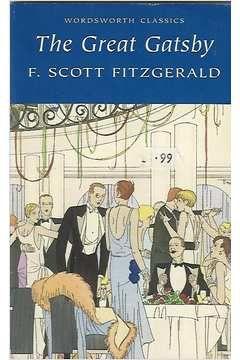 Livro The Great Gatsby Autor F. Scott Fitzgerald (2001) [usado]