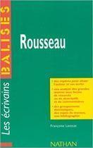 Livro Les Écrivains - Balises - Rousseau Autor Françoise Lavocat (1991) [usado]