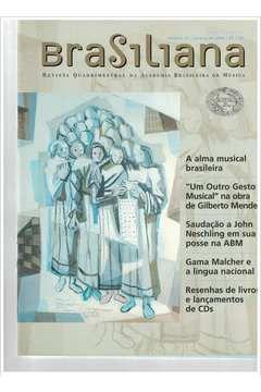 Livro Revista Brasiliana - N° 16 - Ano 2004 Autor Academia Brasileira de Música [usado]
