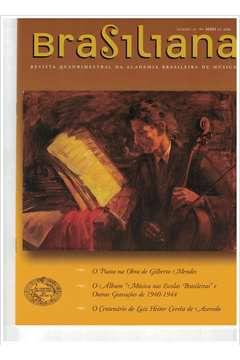 Livro Revista Brasiliana - N° 23 - Ano 2006 Autor Academia Brasileira de Música [usado]