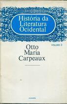 Livro História da Literatura Ocidental Vol. 3 Autor Otto Maria Carpeaux (1980) [usado]