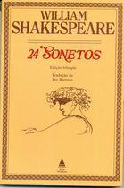 Livro 24 Sonetos Autor William Shakespeare (1975) [usado]