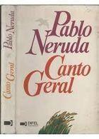 Livro Canto Geral Autor Pablo Neruda (1984) [usado]