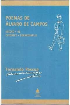 Livro Poemas de Álvaro de Campos Autor Fernando Pessoa (1999) [usado]